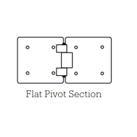 Flat Plate Hinge Section